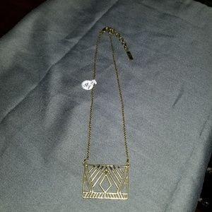Silpada K&R brass necklace, NEW